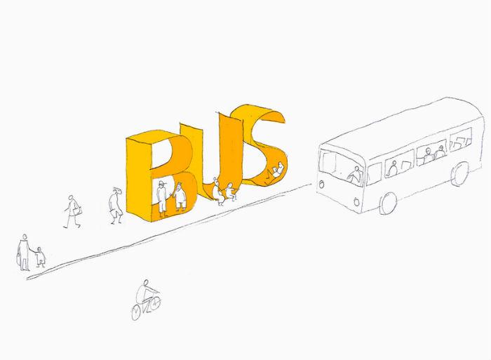 Проект BUS от творческого объединения mmmm...