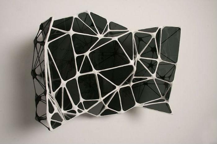 Американский художник Грэм Колдуэлл (Graham Caldwell) выдувает оригинальные скульптуры из стекла