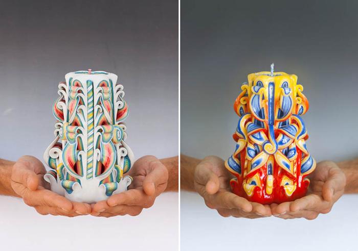Декоративные свечи от Наталии Буриков из Израиля