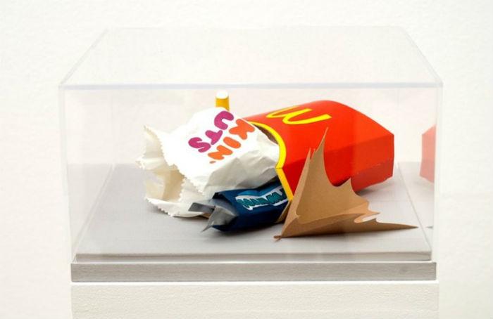 Инсталляции из бумаги от автралийской художницы Карлм Фишер