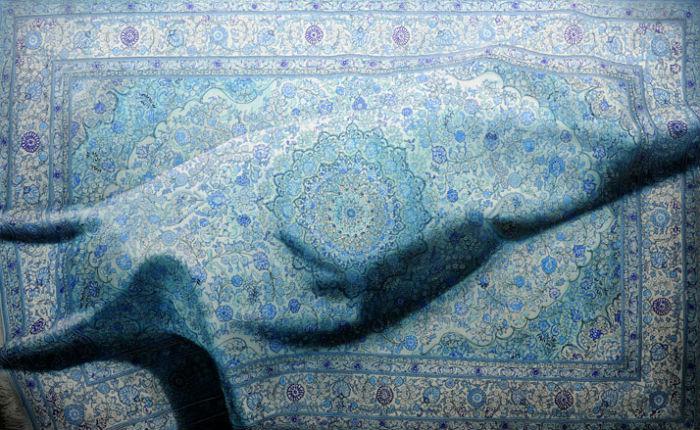 На первый взгляд, произведения художника Антонио Сантина (Antonio Santin) выглядят несколько пугающе