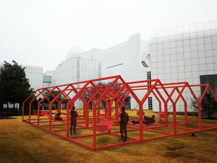 18 июля этого года  Художественный музей  Атланты  (High Museum of art Atlanta) представил интерактивную инсталляцию Mi casa, your casa