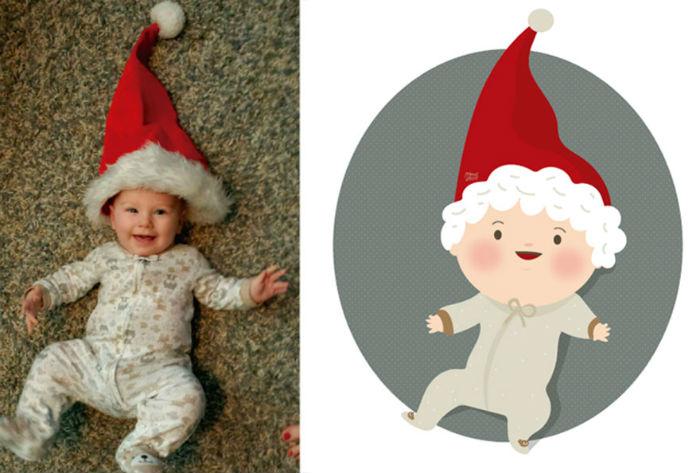 Румяные щёки, круглые мордашки и большие глаза – почти обязательные атрибуты забавных детских портретов