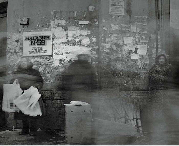 Цикл монохромных фотографий о Ленинграде. Алексей Титаренко