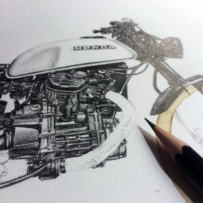 Рисунки, вдохновлённые кофейными отпечатками