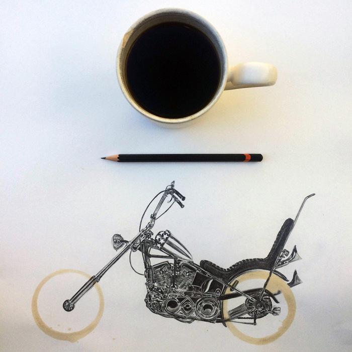Ароматные иллюстрации от американского художника