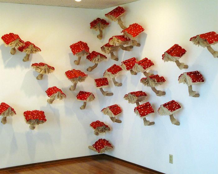 Удивительные книги-грибы Мелиссы Джей Крейг