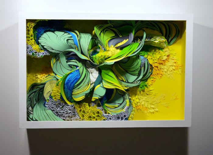 Среди современных художников наметилась тенденция использования отслуживших материалов для изготовления скульптур и инсталляций
