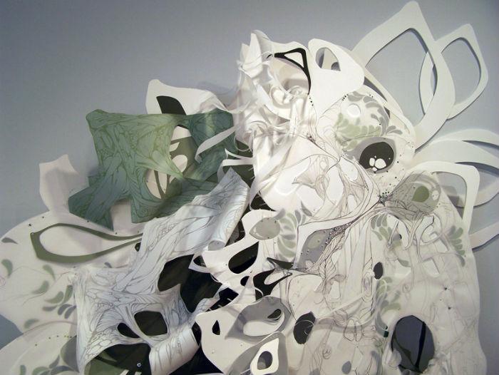 Удивительные скульптуры из вторсырья от Кристал Вагнер
