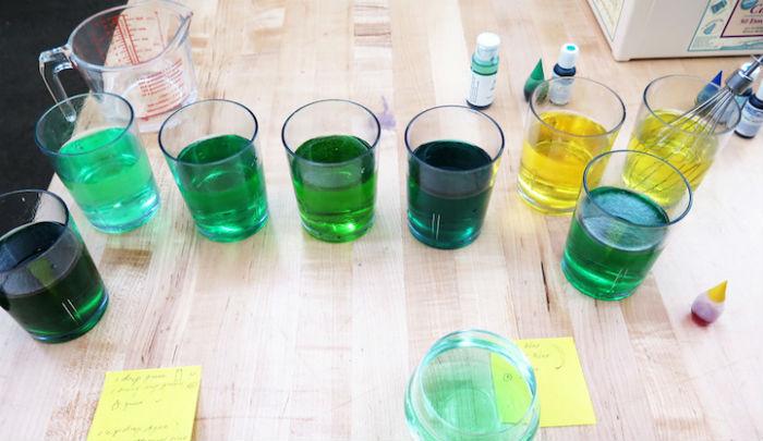 Процесс изготовления замороженных соков