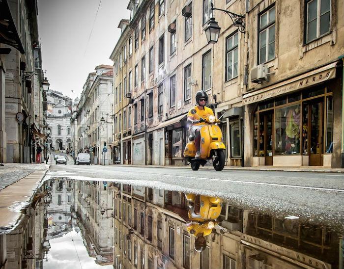 Город в отражениях: потрясающие пейзажи от Daniel Antunes