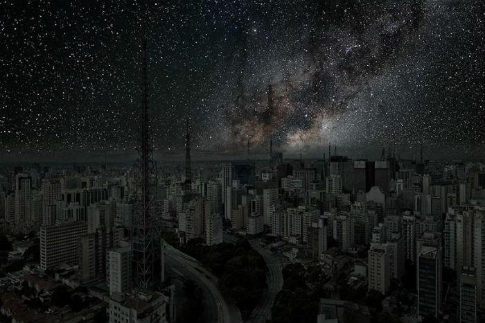Сан-Пауло в потрясающем проекте французского фотографа