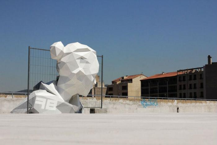 Пластиковая леди от художника Дэвида Месгиша