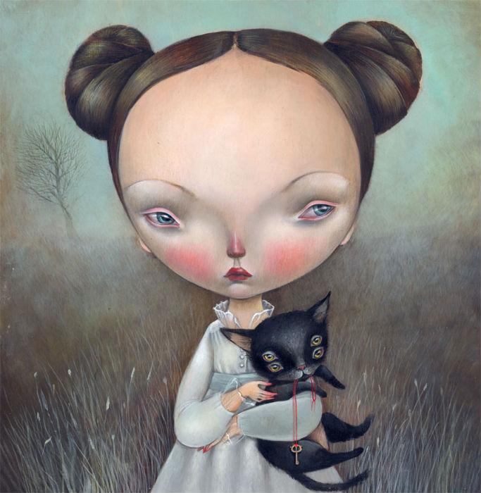 Иллюстрации Dilka Bear