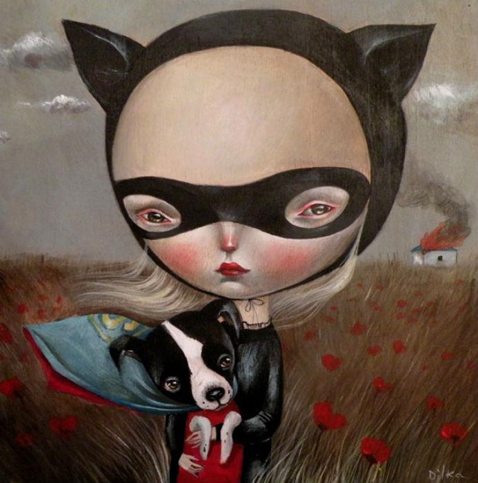 Работы талантливой художницы Диляры Нассыровой