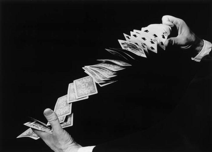 Колода карт, работа Гарольда Эджертона