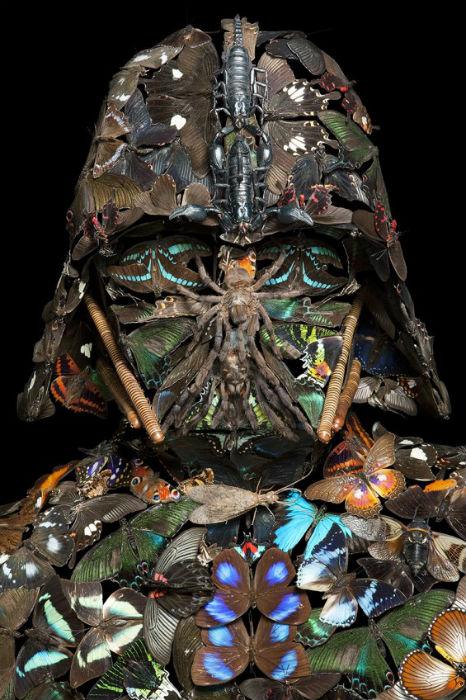 Один из персонажей культового фильма Звездные войны