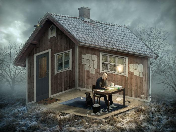 Поразительные фотоиллюзии талантливого шведа