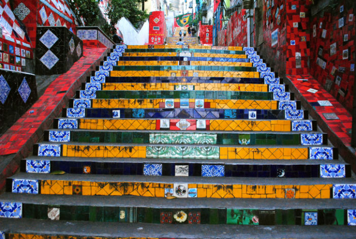 Уникальная достопримечательность Рио - лестница Селарона