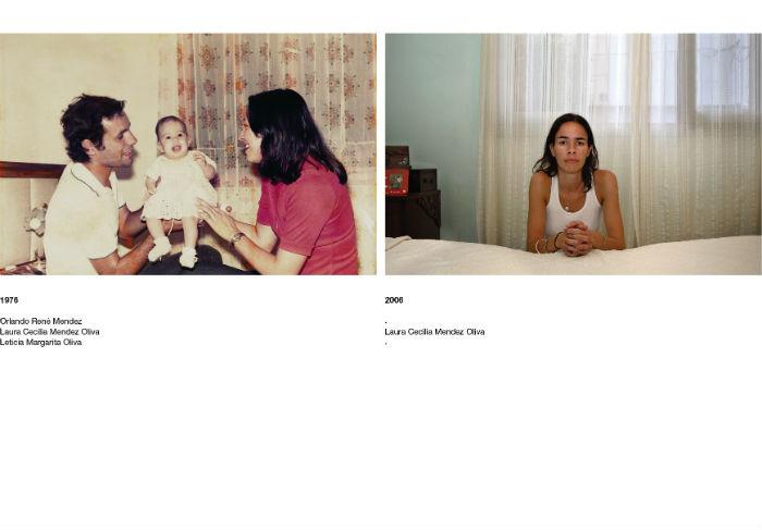 В рамках проекта Густаво решил сопоставить два снимка – первый, архивный, и второй, сделанный в наши дни в том же антураже