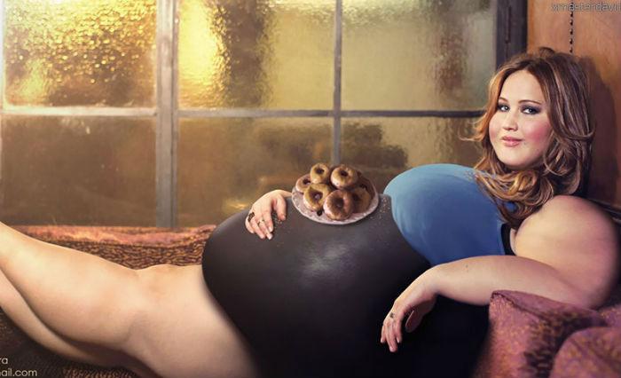 Звезда «Голодных игр» Jennifer Lawrence