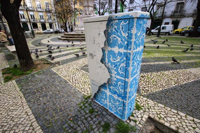 Стрит-арт от Диого Мачадо