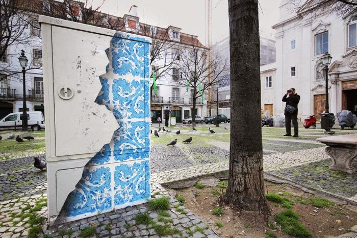 Творчество Диого Мачадо - известного португальского уличного художника