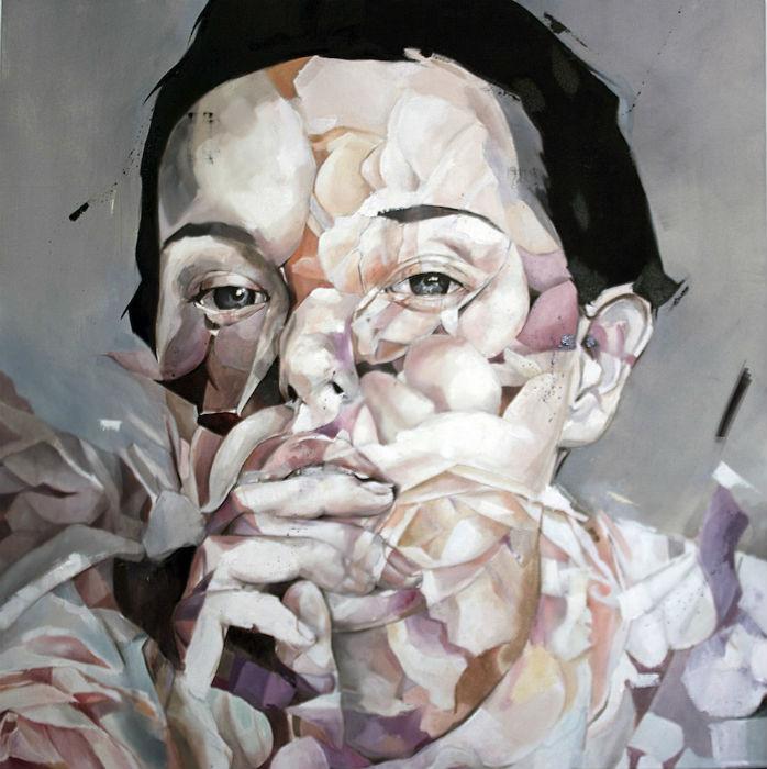 Живопись молодого художника из Каракаса