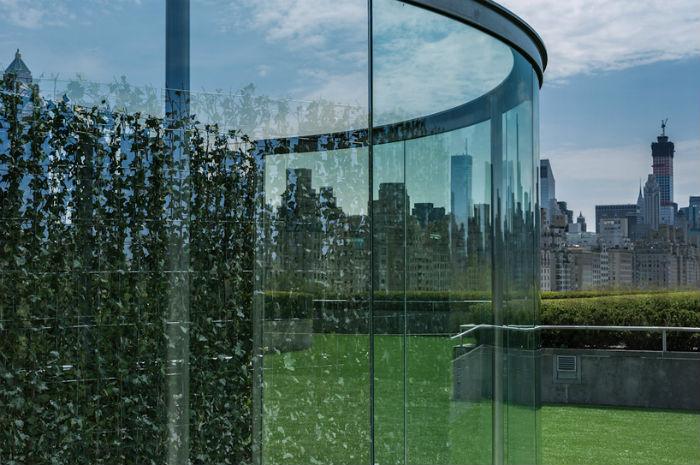Оригинальный стальной «павильон» Hedge Two-Way Mirror Walkabout