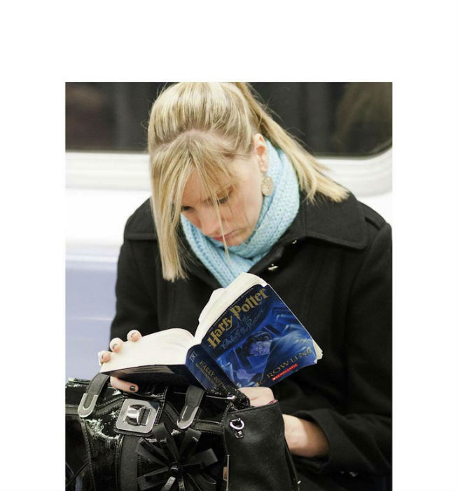 Фотопроект голландского фотографа о читающих американцах