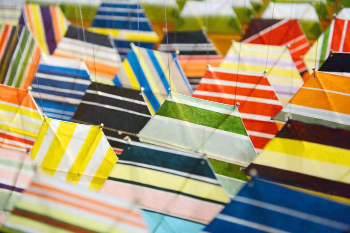 Джейкоб Хашимото представил в Музее современного искусства  пространственную композицию «Gas Giant»