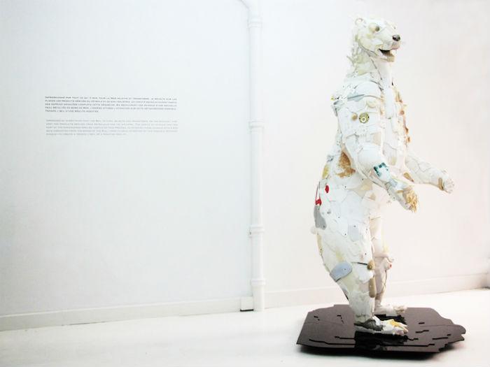 Скульптуры французского скульптора Жиля Ченазандотти