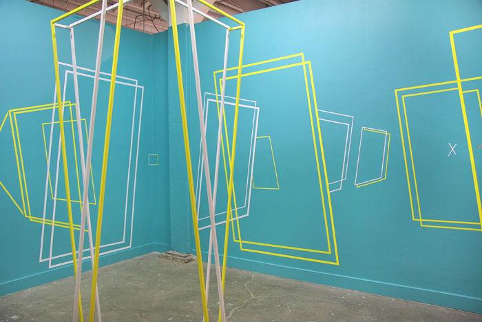 Задача художника Дэмиена Джилли - исследование пространства