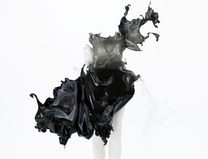 Экстравагантное платье от голландского дизайнера Ирис ван Харпен