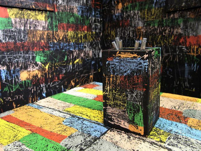Интерактивная инсталляция «Coloured Memories» («Цветные воспоминания») от Итая Охали