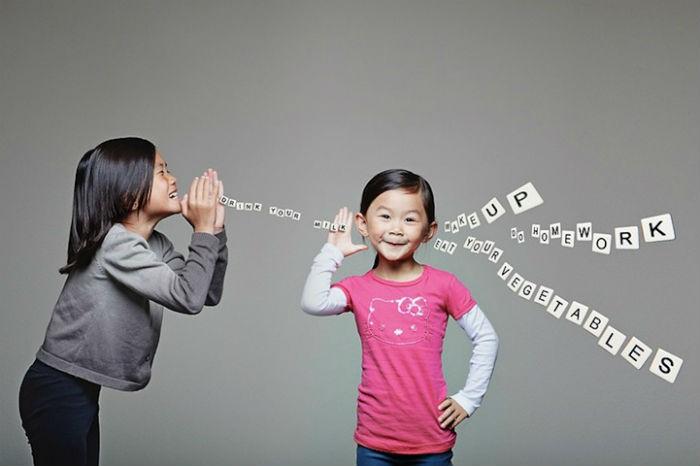 Забавные фотографии сестер Ли