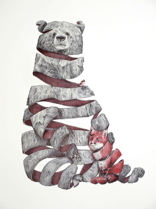 Иллюстрации к проекту Emptyland