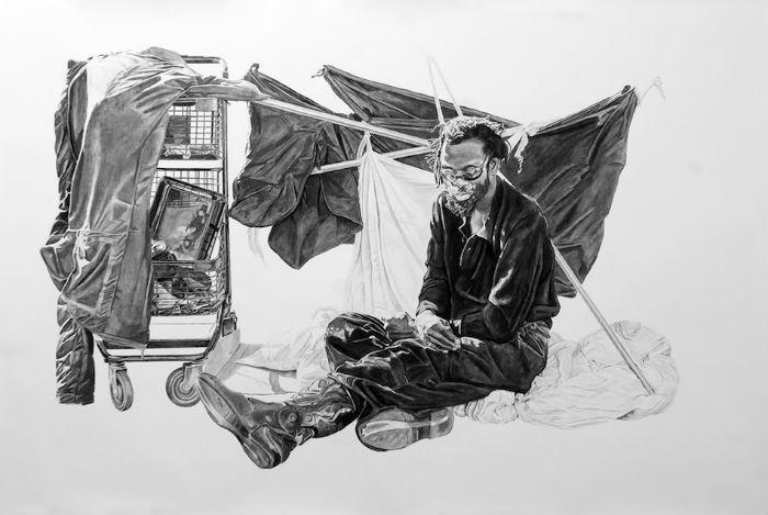 Серия «No Regrets in Life» дает возможность сконцентрироваться на проблеме бездомных