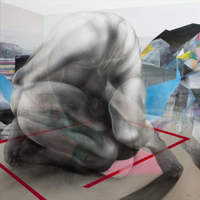 Художник считает, что его творчество в большей степени навеяно экспрессионизмом.