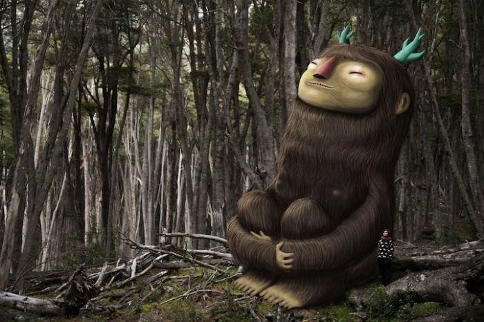 Мистические персонажи, придуманные K2man, свободно взаимодействуют с обычными людьми