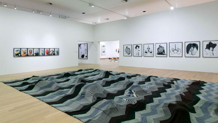 На выставке были представлены работы художника, созданные им за тридцатипятилетний период