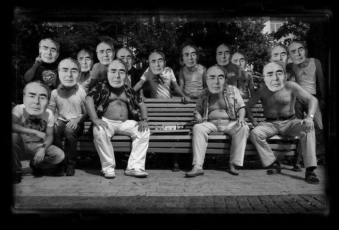 Такеши Китано и другие иконы: Леонид Брежнев
