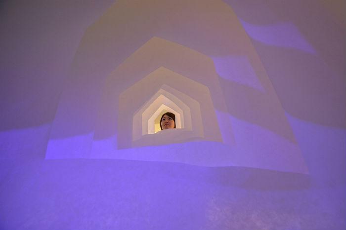 Интерактивная инсталляция японского архитектора Котаро Хориучи