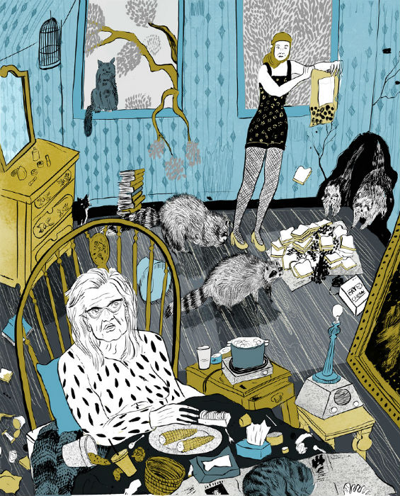 Иллюстрации молодой бруклинской художницы
