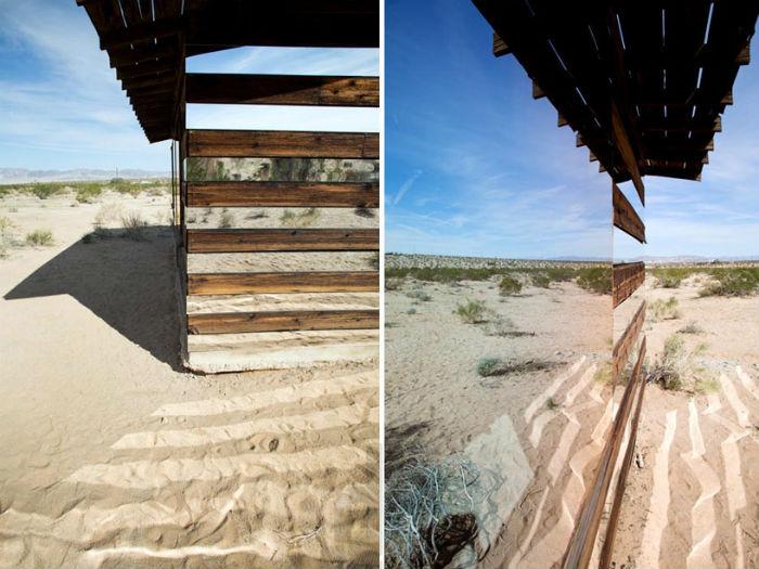 Lucid Stead («Прозрачный дом») - инсталляция в Национальном парке Джошуа-Три