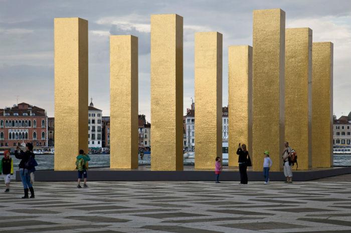 Художник Хейнц Мак (Heinz Mack) представил на XIV Архитектурной биеннале в Венеции своё новое творение