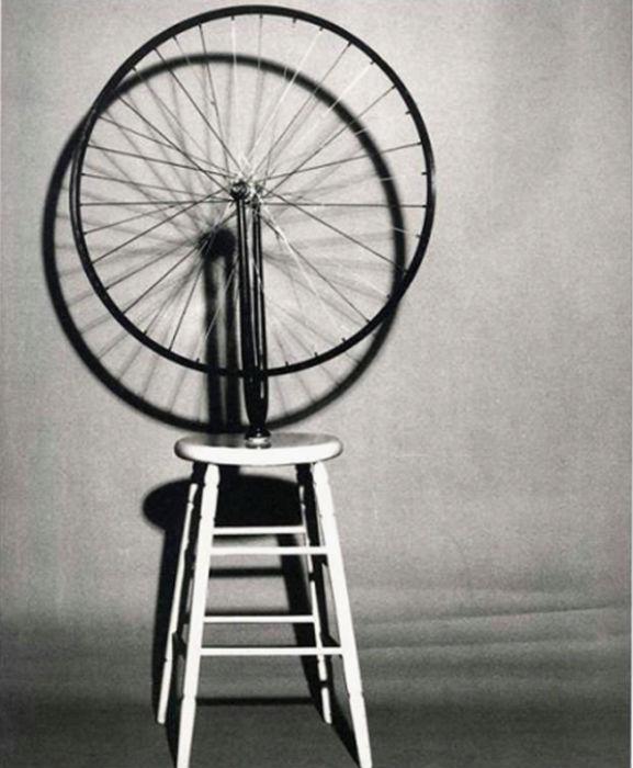 Велосипедное колесо. Марсель Дюшан