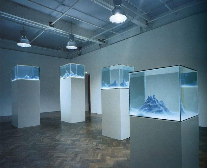 Причудливые миры в резервуарах от Мариэль Нойдекер