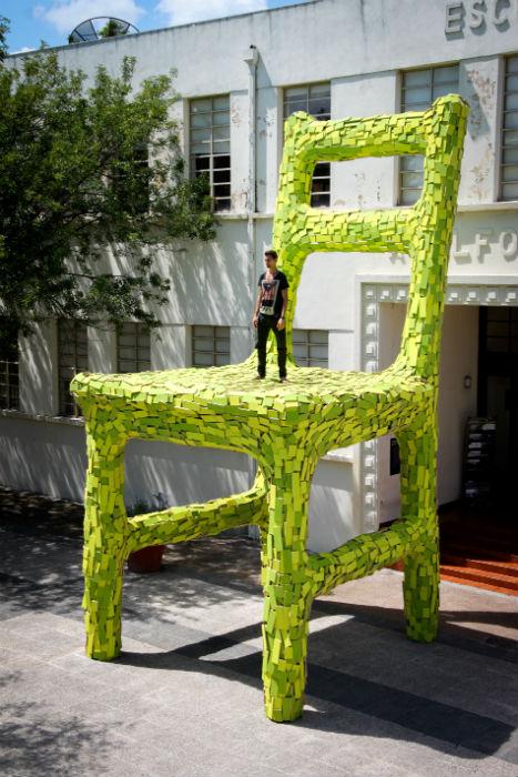 Инсталляция появилась в Фундидора-парк - огромном парковом комплексе, расположенном в мексиканском Монтеррее