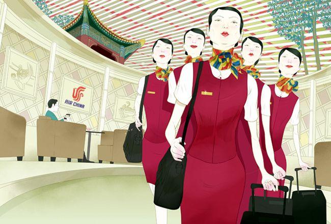 Красочные иллюстрации Marcos Chin